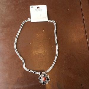 NWT Topshop Semi Precious Stone Necklace